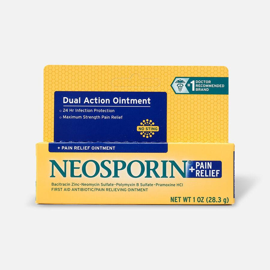 Neosporin Plus Pain Relief, Maximum Strength Antibiotic Ointment, 1 oz, , large image number 0