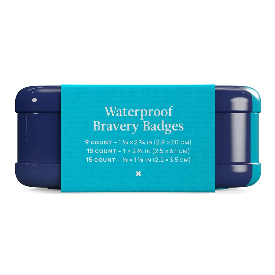 Welly Waterproof Bravery Badges Assorted Waterproof Bandages - 39ct, , large image number 5