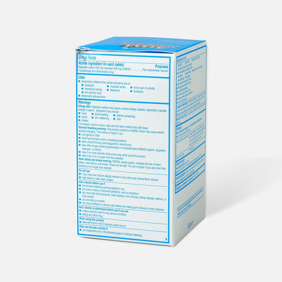 Aleve Back & Muscle Pain, 200ct, , large image number 3