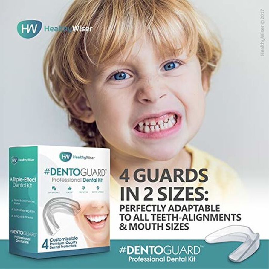 HealthyWiser DentoGuard Mouth Guard - 4ct, , large image number 7