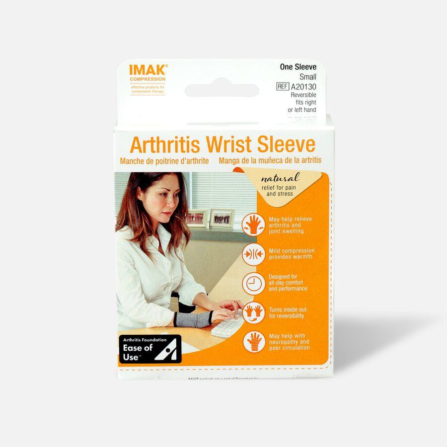 IMAK Compression Arthritis Wrist Sleeve, Small, , large image number 0