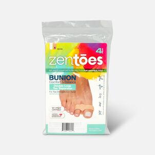 ZenToes Double Loop Toe Separator for Bunion Pain Relief - 4 Pack