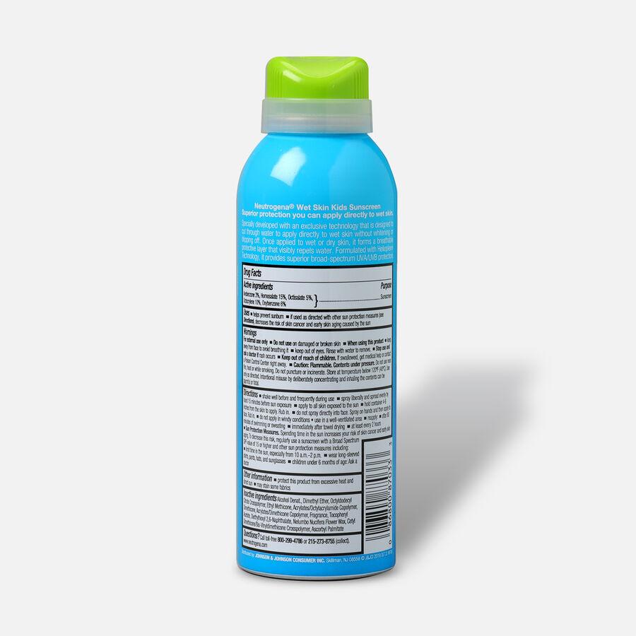 Neutrogena Wet Skin Kids Sunscreen Spray, SPF 70, 5 oz, , large image number 1