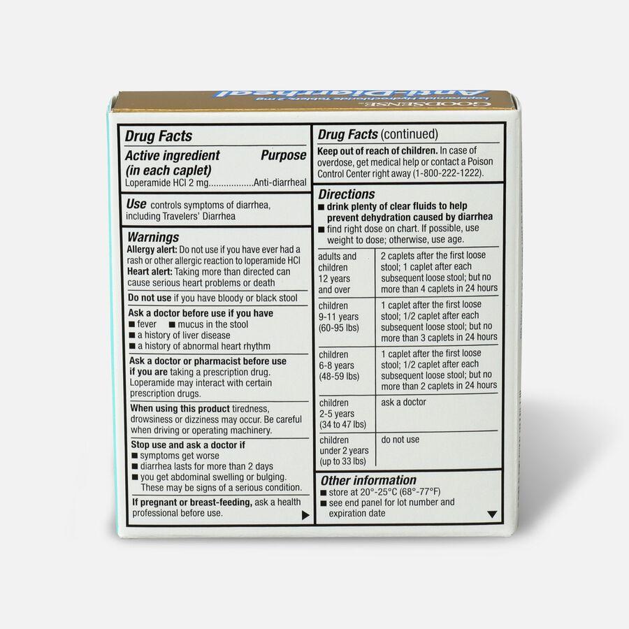 GoodSense® Loperamide HCl 2 mg Anti-Diarrheal Tablets, 12 ct, , large image number 1