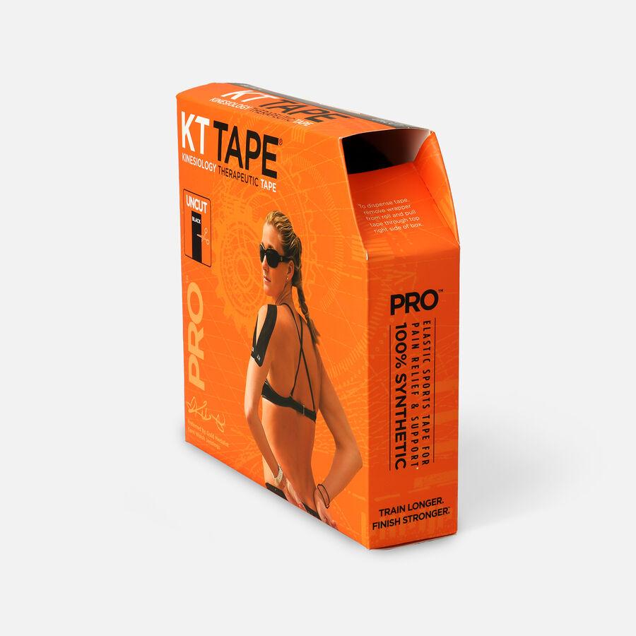 KT Tape Pro Jumbo Black Tape, Uncut, 125 feet, , large image number 2