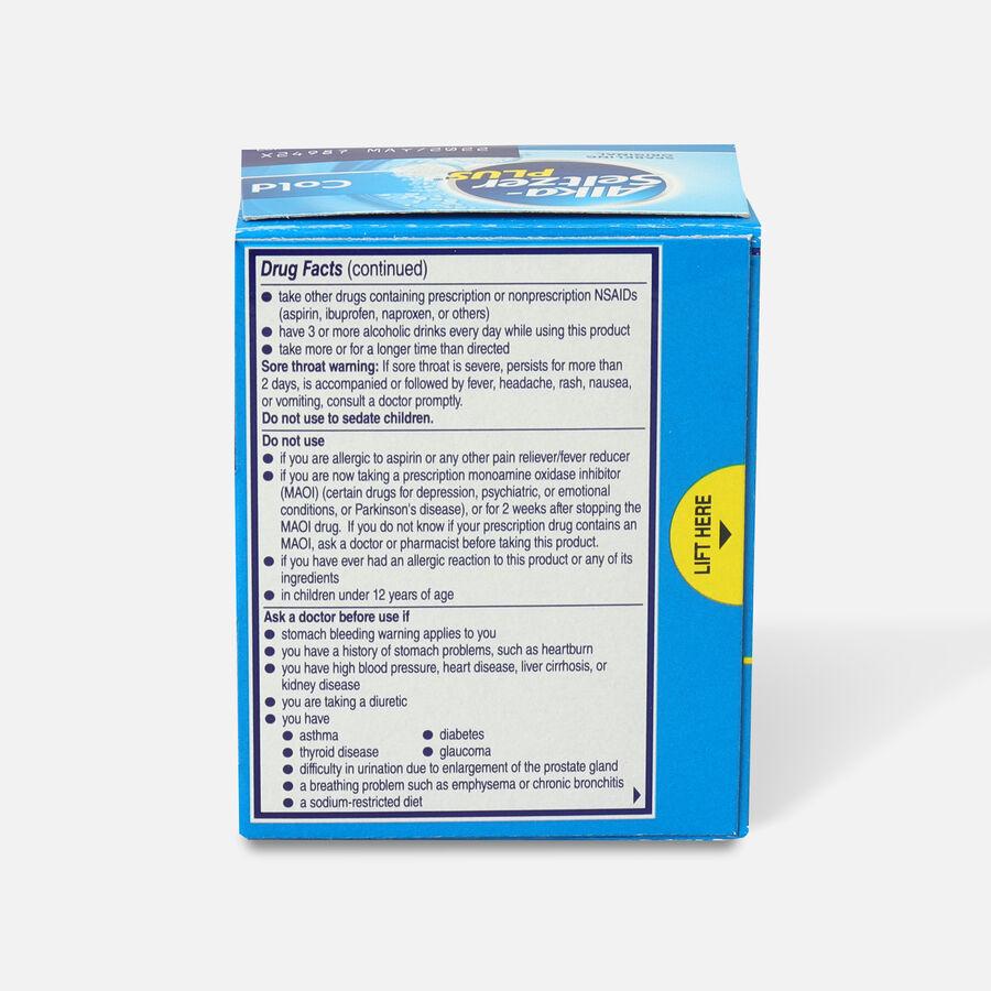 Alka-Seltzer Plus Cold Formula Sparkling Original Effervescent Tablets, 20ct, , large image number 1