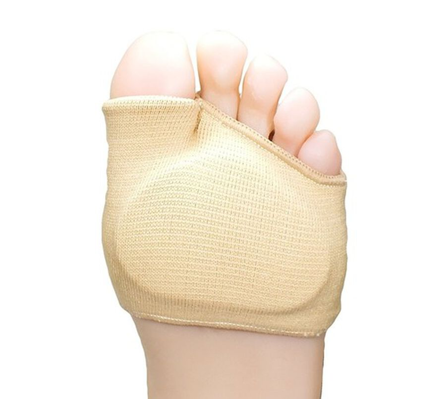 ZenToes Fabric Metatarsal Sleeve with Sole Cushion Gel Pads - 4 Pack, , large image number 2
