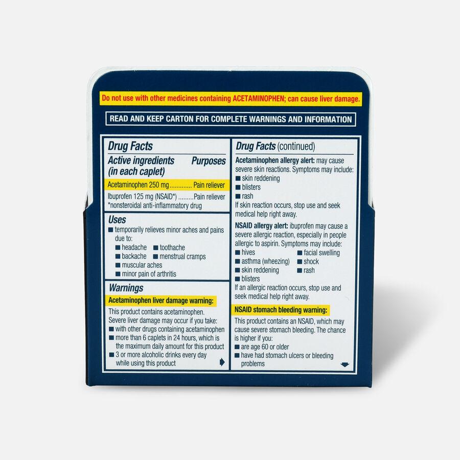 Advil Dual Action Coated Tablets, Acetaminophen + Ibuprofen, 36 ct, , large image number 1