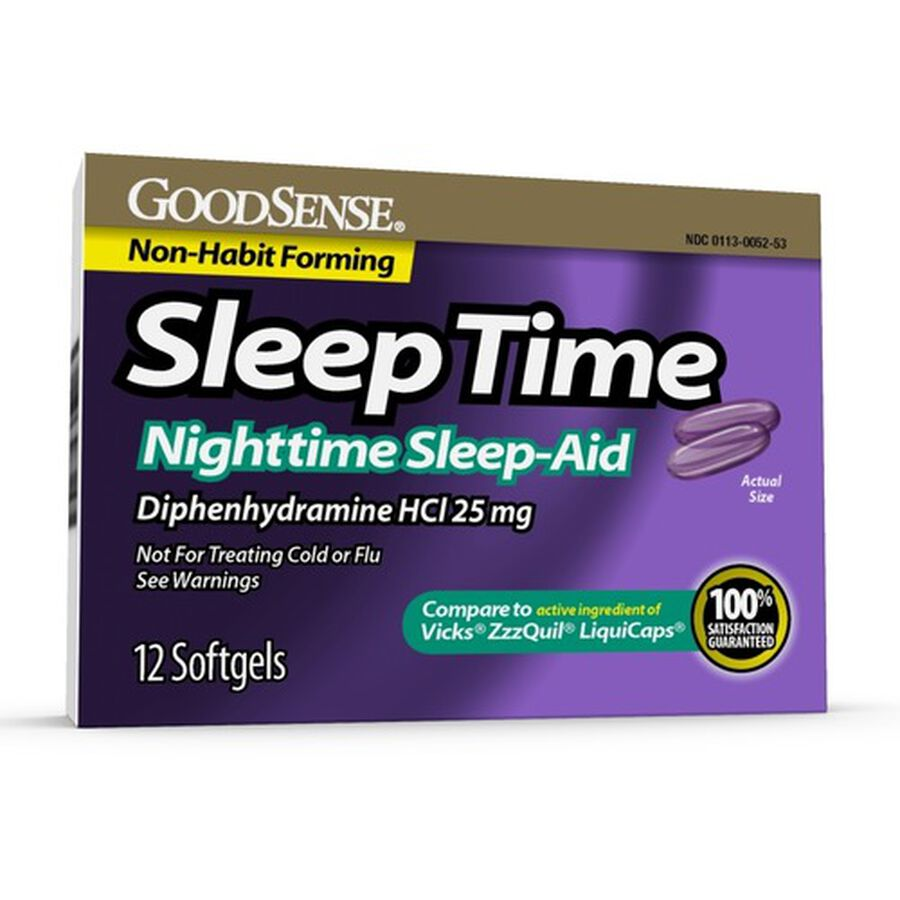 GoodSense® Sleep Time Softgels, 12 ct, , large image number 0
