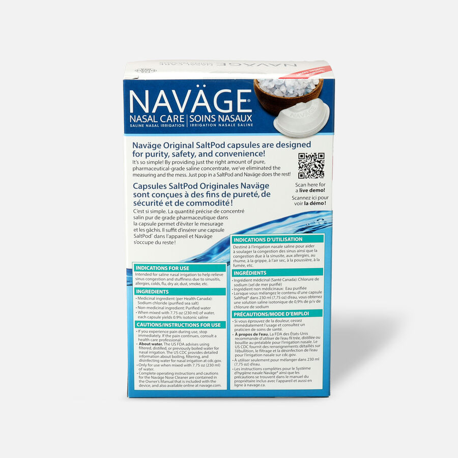 Navage Saline Nasal Irrigation Deluxe Kit, , large image number 4