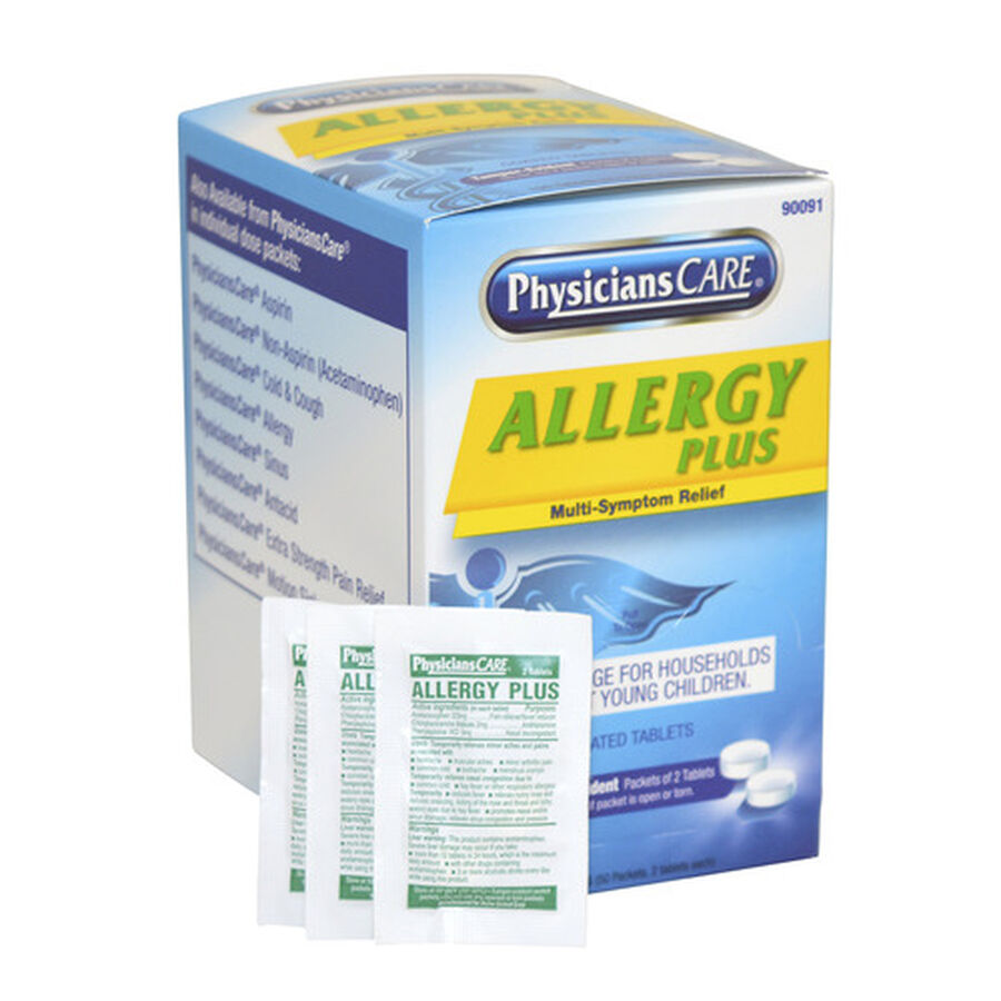 PhysiciansCare Allergy Plus, 50 x 2/Box, , large image number 10