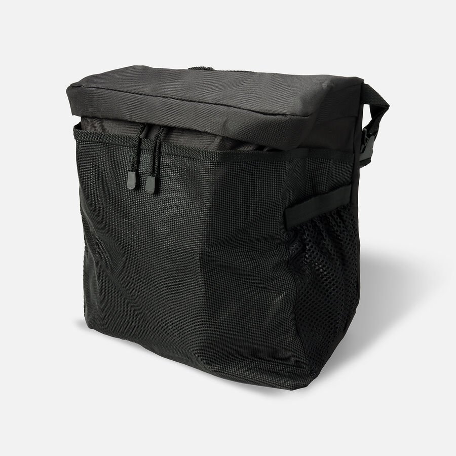 """Homecare Products Wheelchair Carry On Pouch 15"""" L x 15"""" x 5"""" H, Black, Nylon, , large image number 0"""