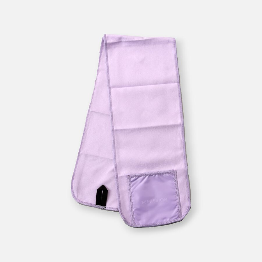 Mission Fever Relief Cooling Towel, Simply Purple, , large image number 2