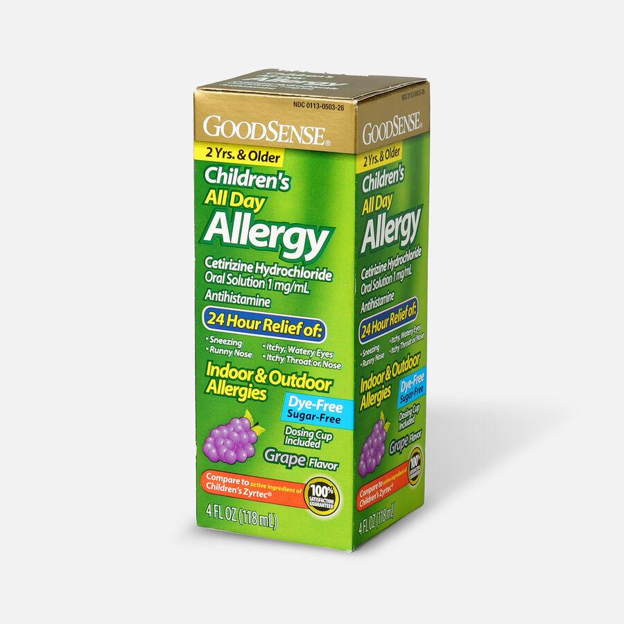 GoodSense® Child All Day Allergy Cetirizine 24-Hr Grape Flavor 4 fl oz, , large image number 2