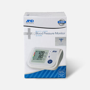 A&D AccuFit™ Medical Upper Arm Blood Pressure Monitor with Plus Adjustable Cuff