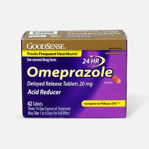 GoodSense® Omeprazole Delayed Release Tablets 20 mg, Acid Reducer, 42 ct