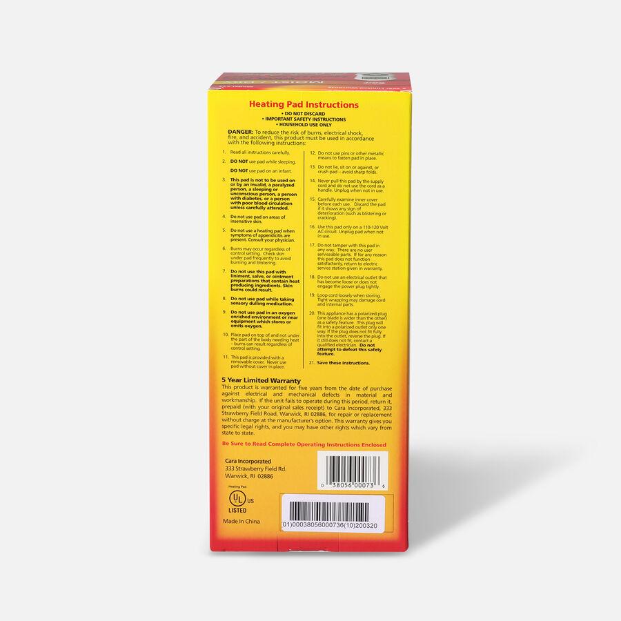 Cara Heating Pad, King Size - Moist Heat, Temp Select, , large image number 1