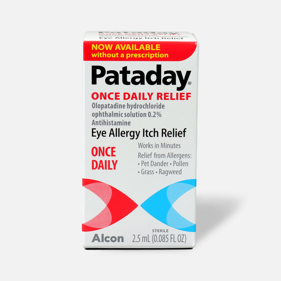 Pataday Once Daily Relief, 2.5mL, , large image number 0
