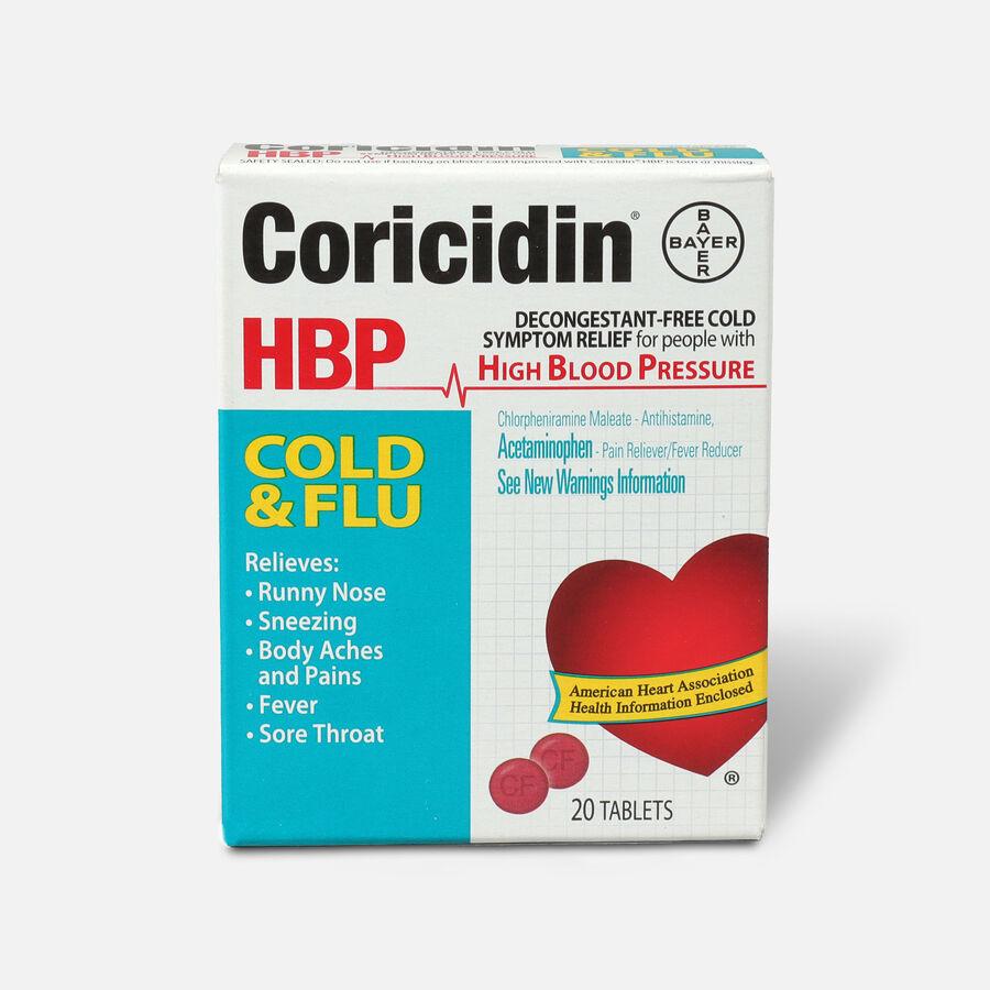 Coricidin HPB Cold & Flu, 20ct, , large image number 0