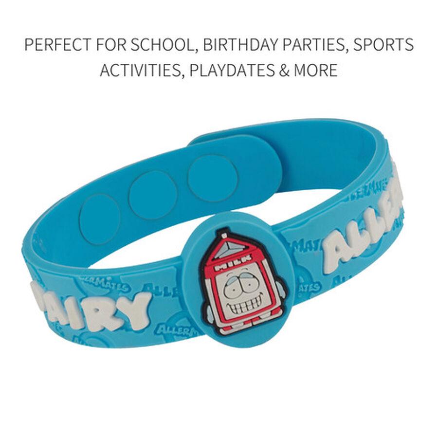 AllerMates Children's Allergy Alert Bracelet - Dairy, , large image number 2