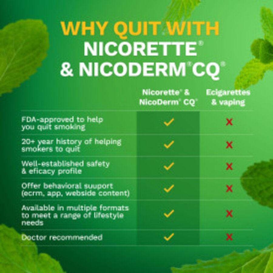 Nicorette Nicotine Lozenges, Mint, 4mg, 81 ct, , large image number 4