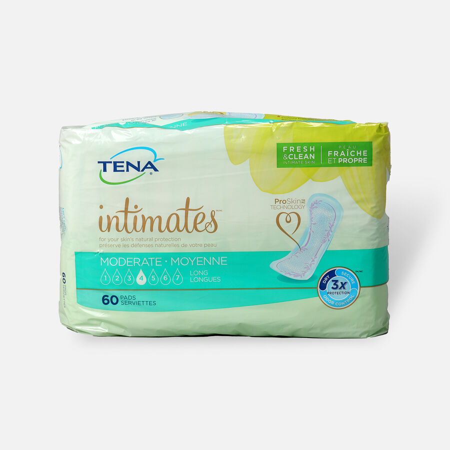 TENA Intimates Pads Moderate Long, 60 ct, , large image number 0