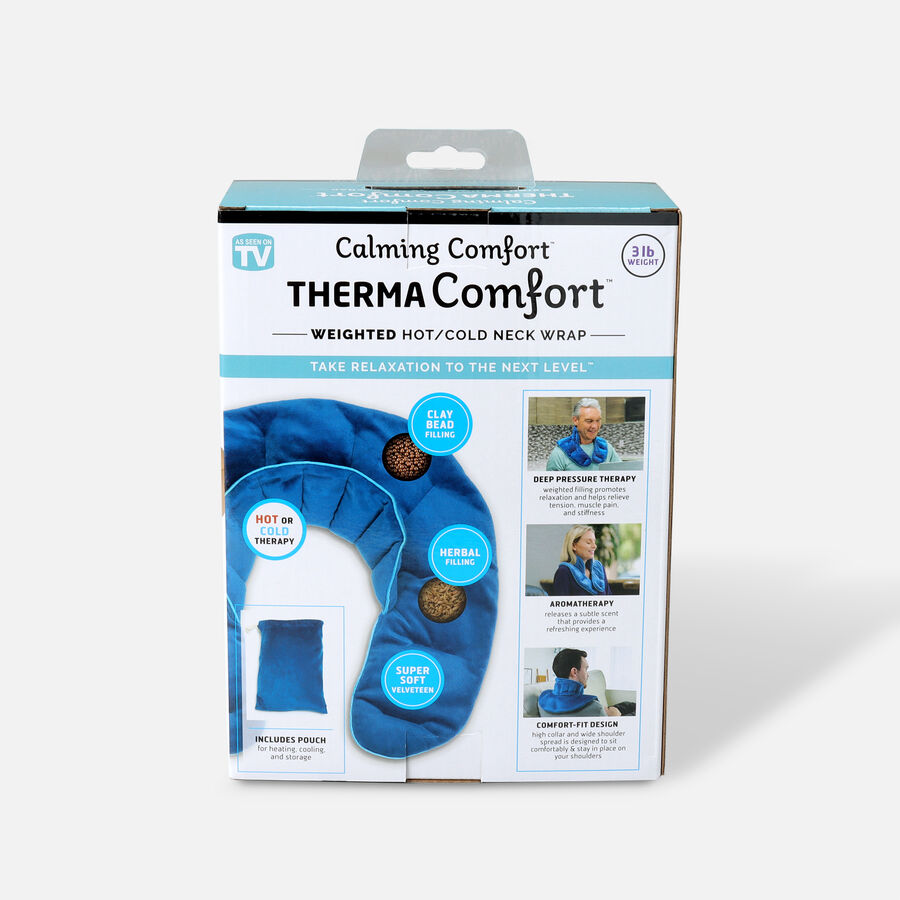 ThermaComfort™ 3 lb. Weighted Hot/Cold Neck Wrap, , large image number 1