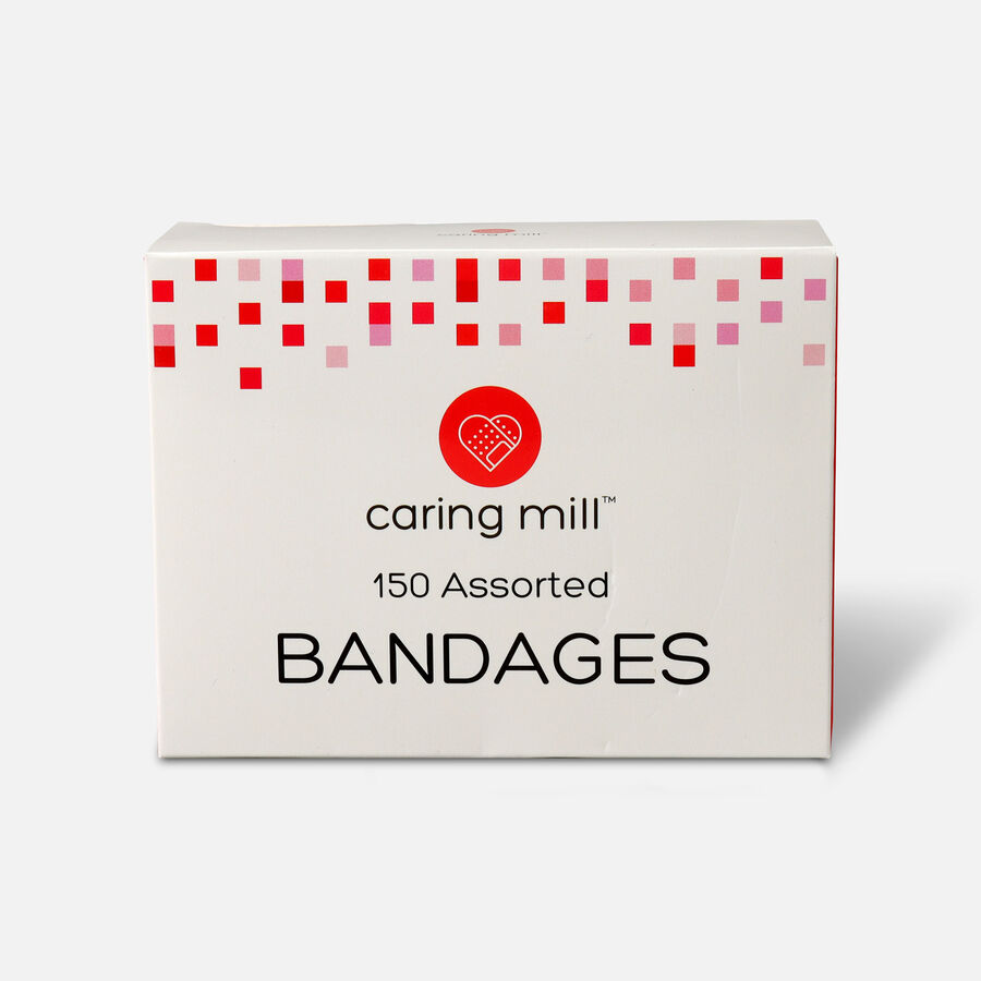 Caring Mill™ Assorted Bandages, 150 ct, , large image number 0