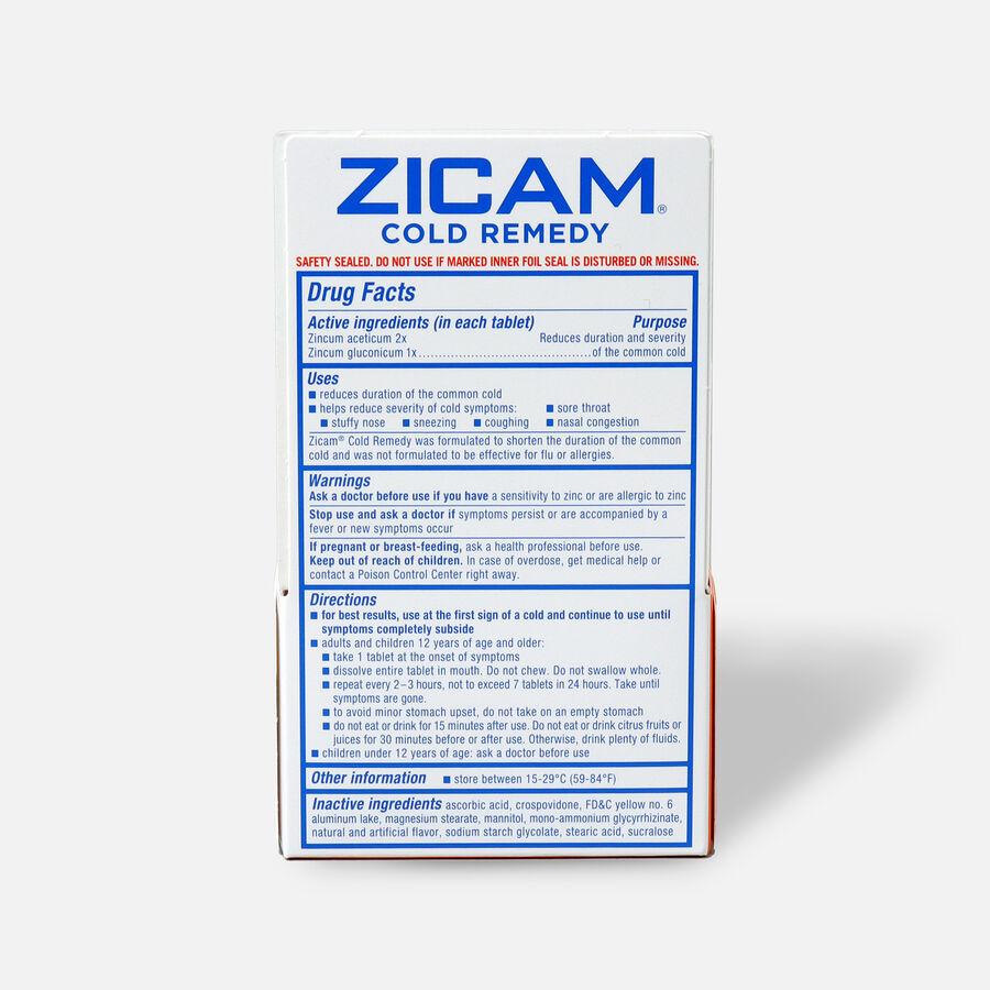 Zicam Cold Remedy RapidMelts with Vitamin C, Citrus, 25 ea, , large image number 1