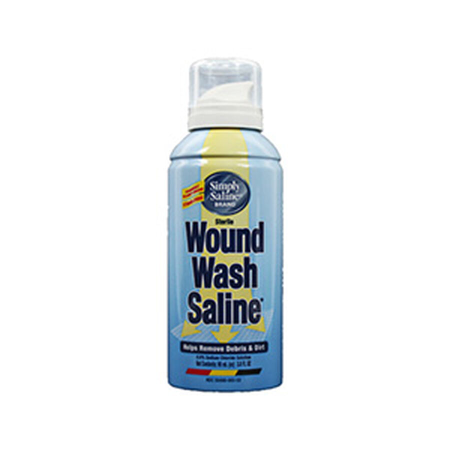 Wound Wash Saline, Simply Painless 0.9% - 3 Oz, , large image number 0