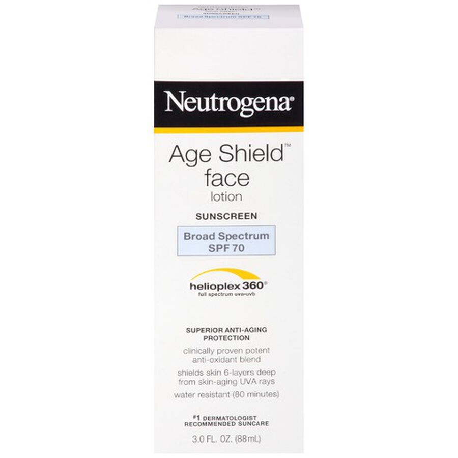 Neutrogena Age Shield Face Sunscreen with SPF 70, 3 oz, , large image number 0