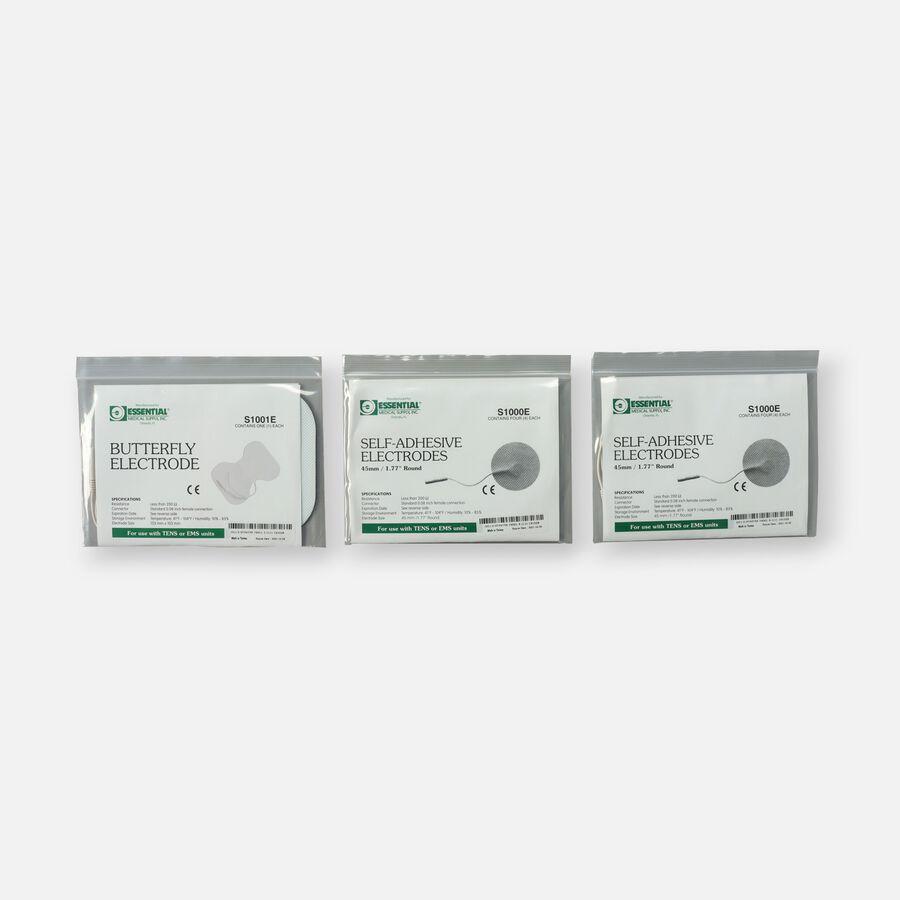 Essential Medical Supply TENS Electrode Combo Pack, , large image number 0