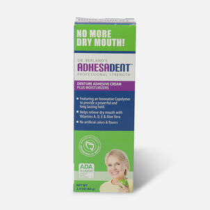 Dr. B Dental Solutions Denture Adhesive - 2.4oz