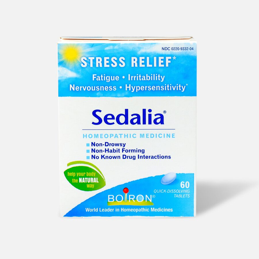 Boiron Sedalia Homeopathic Medicine for Stress Relief, 60 ct, , large image number 0