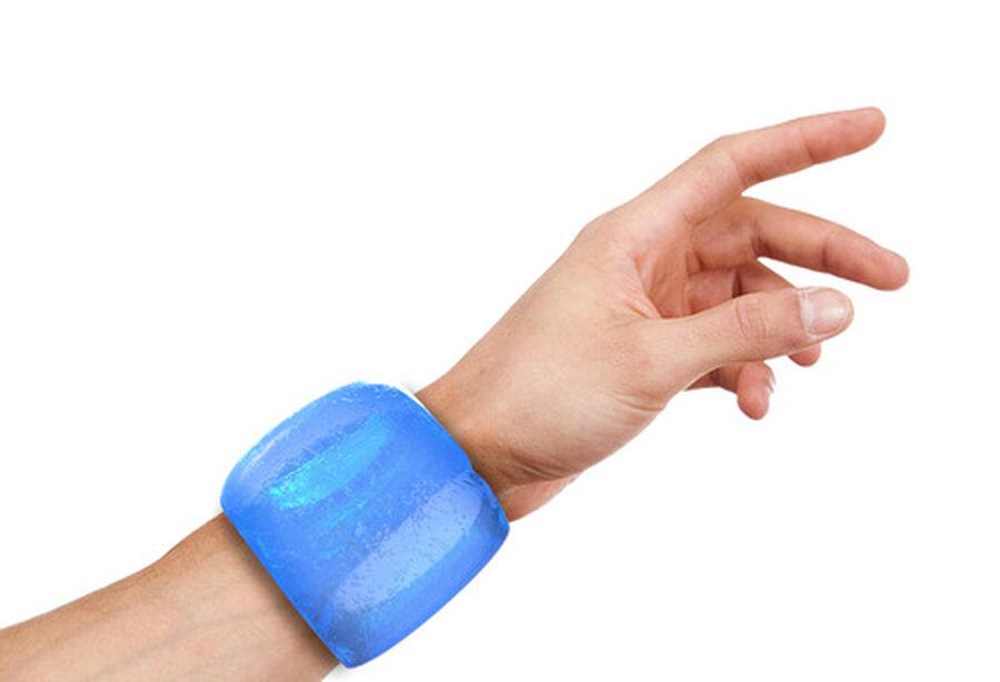 Icetubes™ Wrist Tubes, Roll-On Cold Compression, Blue, , large image number 2