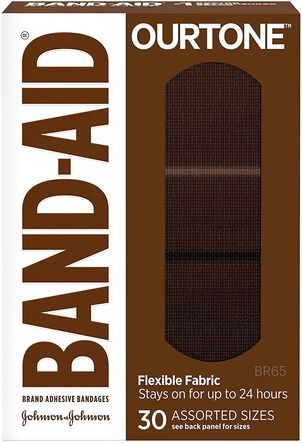 Band-Aid Ourtone Assorted Adhesive Bandages - BR65 - 30ct