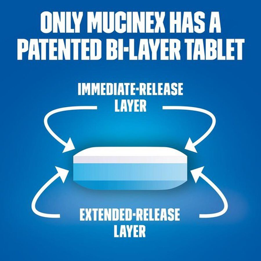 Mucinex SE Max Strength Extended Release Bi-Layer Tablets, 14 ct, , large image number 3