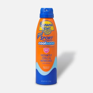 Banana Boat Sport Performance Cool Zone Continuous Spray, SPF 50, 6 oz