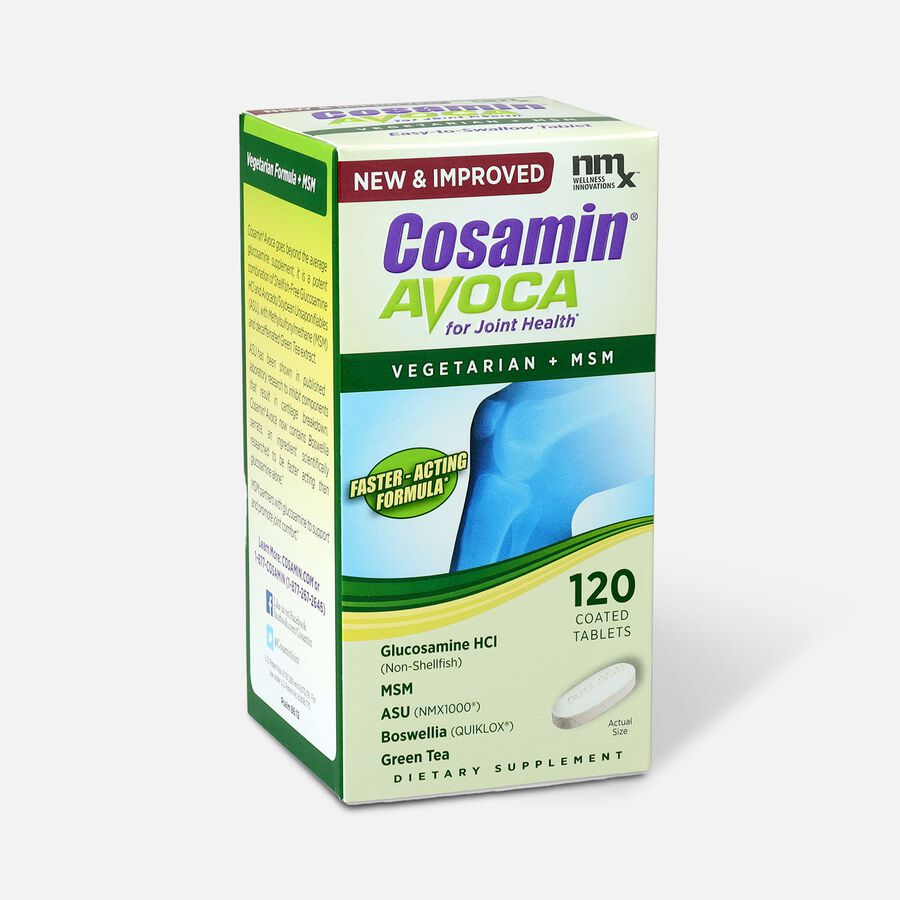 Cosamin Avoca Vegetarian Joint Health Tablets, 120 count, , large image number 2