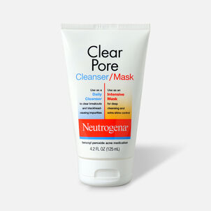 Neutrogena Clear Pore Cleanser / Mask, 4.2oz