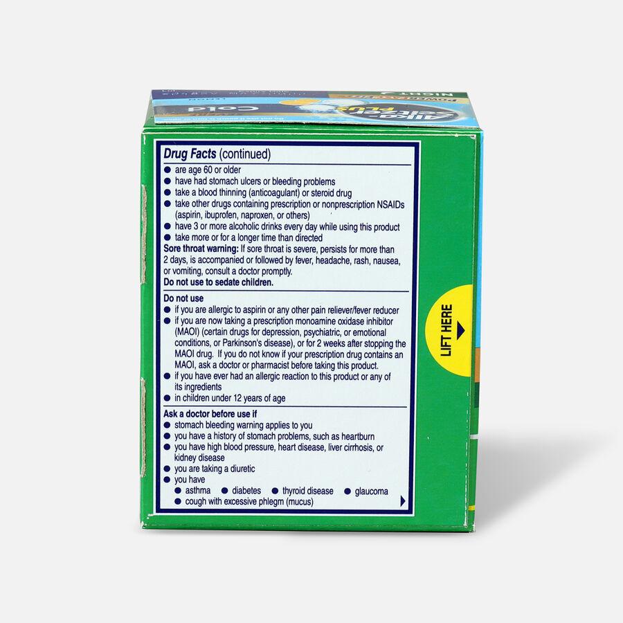 Alka-Seltzer Plus Cold PowerFast Fizz Night-time Effervescent Tablets, Lemon, 20ct, , large image number 1