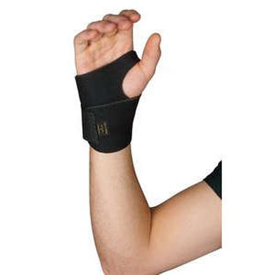 Leader Neoprene Wrist Support with Thumb Loop, OSFM, , large image number 2