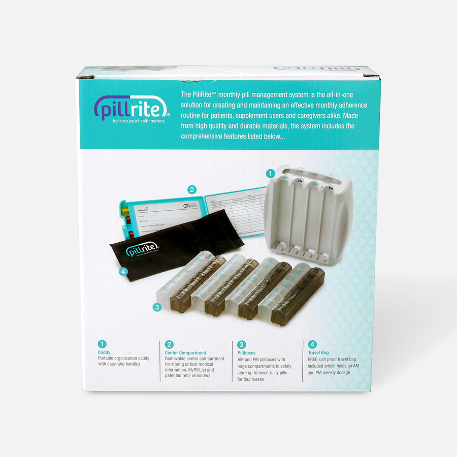 PillRite Monthly Pill Management System, , large image number 1