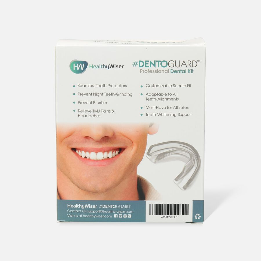 HealthyWiser DentoGuard Mouth Guard - 4ct, , large image number 2