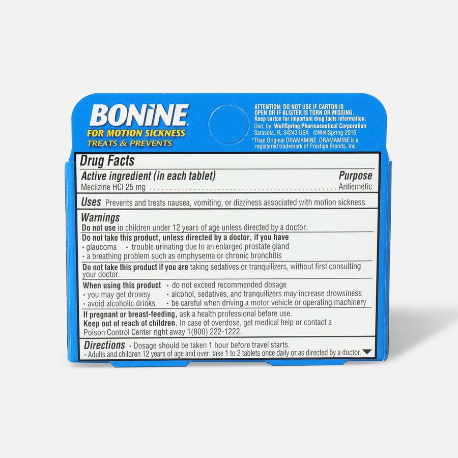 Bonine Adult for Motion Sickness, 8 ct, , large image number 1