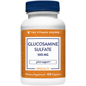 Vitamin Shoppe Glucosamine Sulfate Capsules, For Joint Support, 500 mg