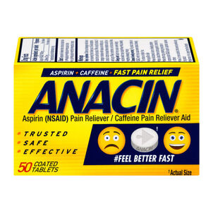 Anacin, Regular Strength