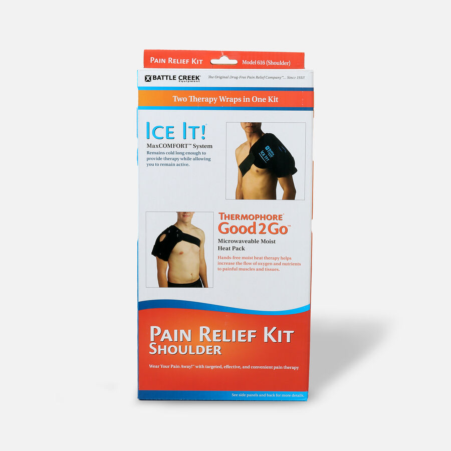 Battle Creek Shoulder Pain Kit with Moist Heat and Cold Therapy, , large image number 0