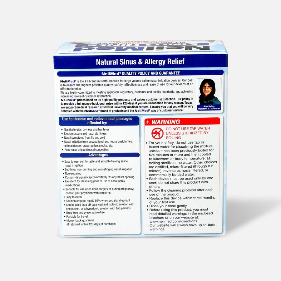 NeilMed Sinus Rinse Regular Kit, 1 kit, , large image number 1
