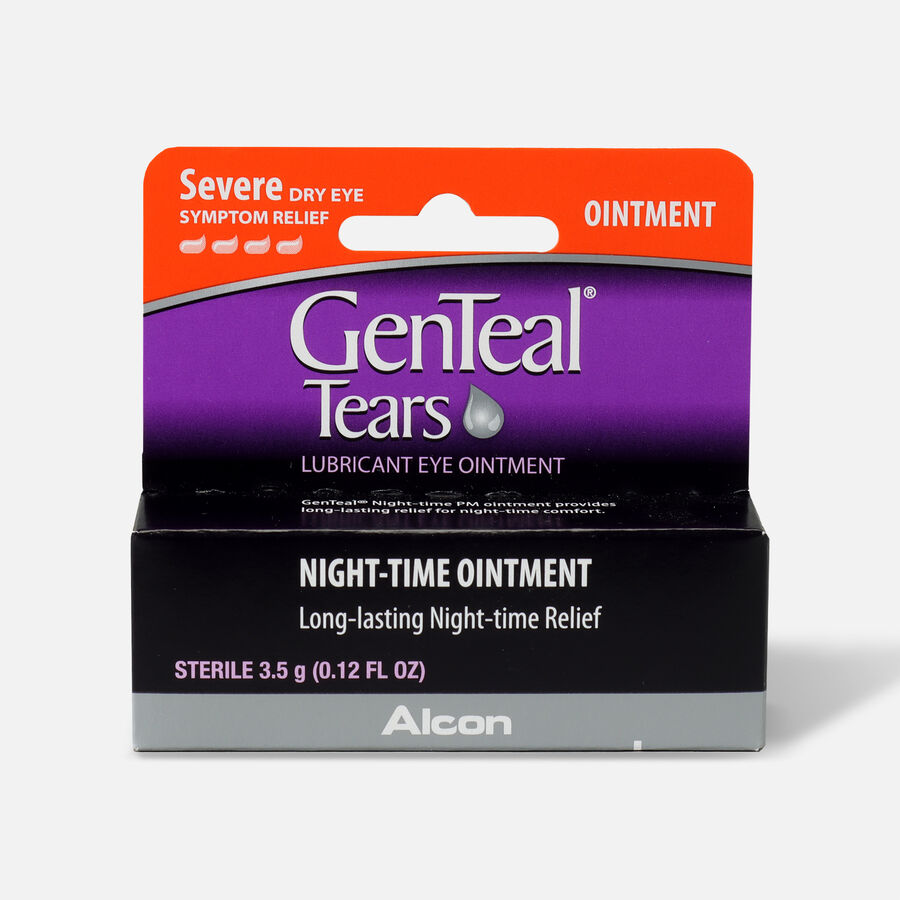 GenTeal Tears Night-Time Ointment, 0.12 oz, , large image number 0